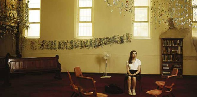 Emma Campbell in a scene from short film, Stick (Photo: Courtesy ATYP)