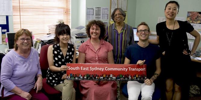 Jenny Honeybrook, Frances Lim, Jane Rogers, Rufina Silveira, Blake Kegg and Jasmine Enright of SESCT (Photo: Jack Carnegie)