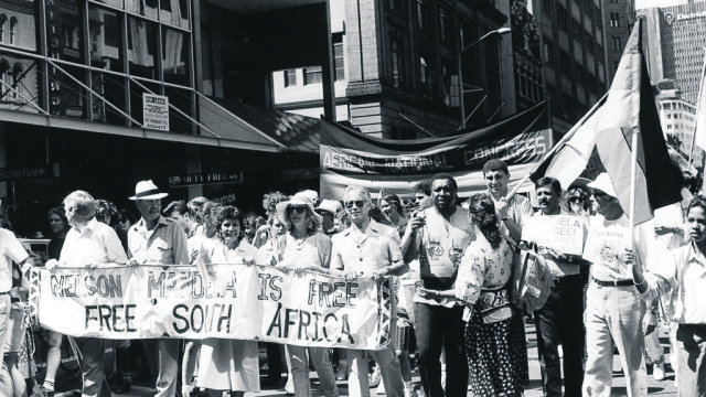 Celebrating the end to apartheid in South Africa (Photo: Supplied)