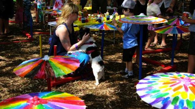 Fun at the Newtown Festival (Photo: Anya Beniac