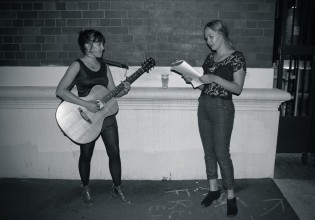 Liz Hughes and Julia Jacklin of Video Set (Photo: Tom Capell)