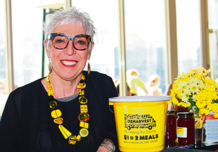 Ronni Kahn, founder and CEO of OzHarvest (Photo: Bruce Wardley)