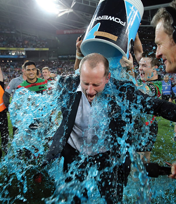 Coach Maguire at the 2014 NRL Rugby League Final. Photo: Grant Trouville © nrlphotos.com