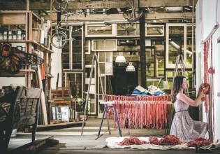 Melissa Carey in her Alexandria studio Photo: Simon Ward Images