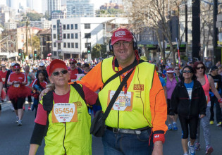 The Big Issue, Annemarie and Justin Photo Peter Holcroft