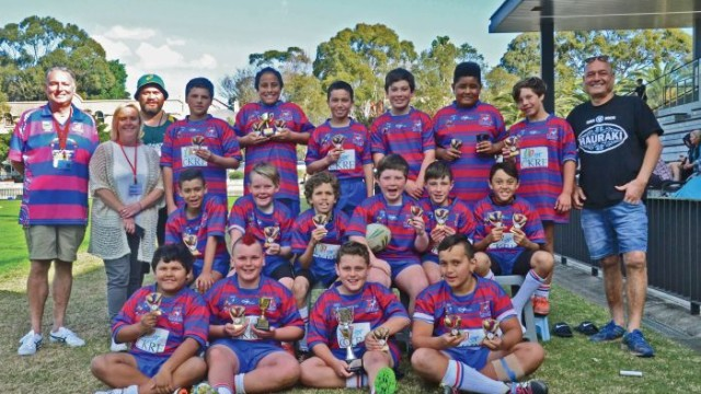 Grand final greats: the Alexandria Rovers Under11 team romped home to victory Photo: John Donnelly