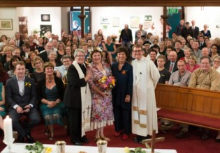 The Blessing at South Sydney Uniting Church, 2014. Photo: Supplied