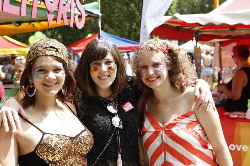 Shining faces on Fair Day. Photo: Ashley Asphodel