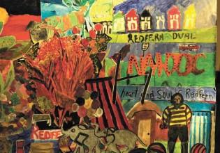 """Memories of Redfern"" (detail) Image: Jill Edwards & Darlene Crump & collaged by Poets Art Group"