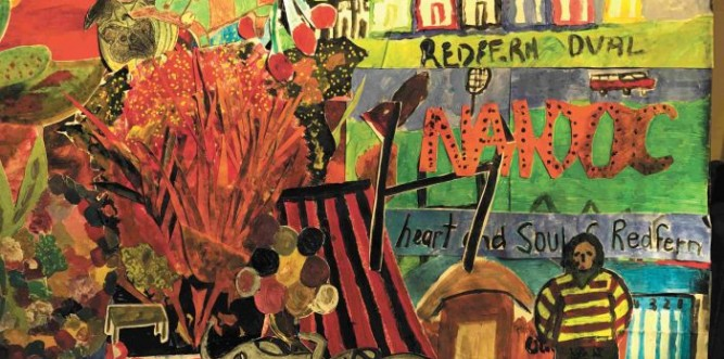 """Memories of Redfern"" (detail) Image: Jill Edwards & Darlene Crump & collaged by Poets Art Group"