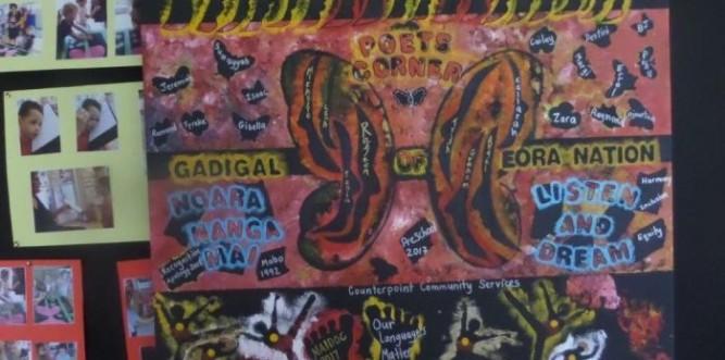 Art work created by children at Poets Corner Preschool Photo: supplied