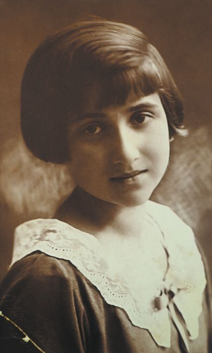 Dora Eisenberg as a young girl Photo: supplied