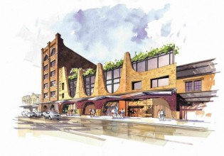 Artist impression of Foyer51 from City Road Image: Supplied