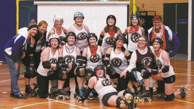 The Sydney Snipers (Scrim Shady middle row, third from right)  Photo: Steven Craddock