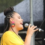 Mi Kaisha performs on Yabun mainstage. Photo: Lyn Turnbull