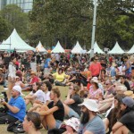 Yabun mainstage crowd. Photo: Lyn Turnbull