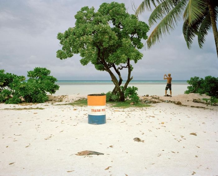 Majura Atoll, Marshall Islands, on Nuclear Victims Remembrance Day in 2014. Image: Jessie Boylan.