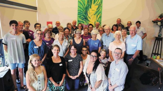 Hunter Presbytery Community Action Workshop at Jesmond Park Uniting Church Photo: Supplied