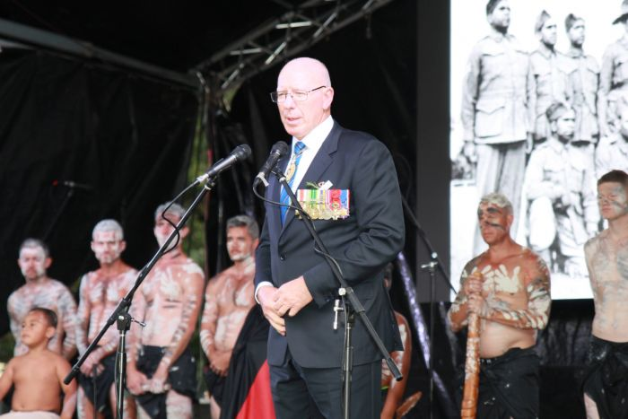 His Excellency General The Honourable David Hurley AC DSC (Ret'd) Governor of NSW. Photo: Ashley Asphodel