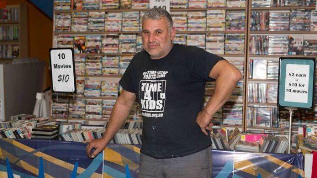 Peter Aspres, South Sydney DVD. Photo: Suellen Symons