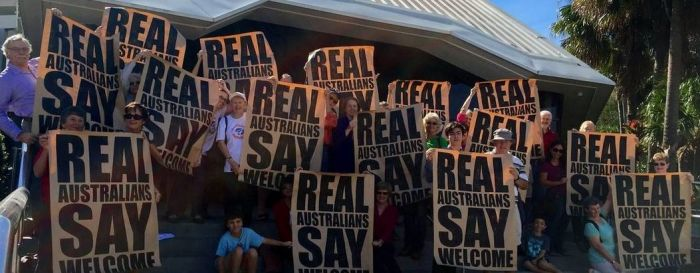 Real Australians say welcome. Photo: supplied