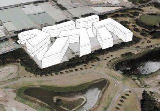 Image: Sydney Park incursion, showing development plan (Friends of Erskineville)
