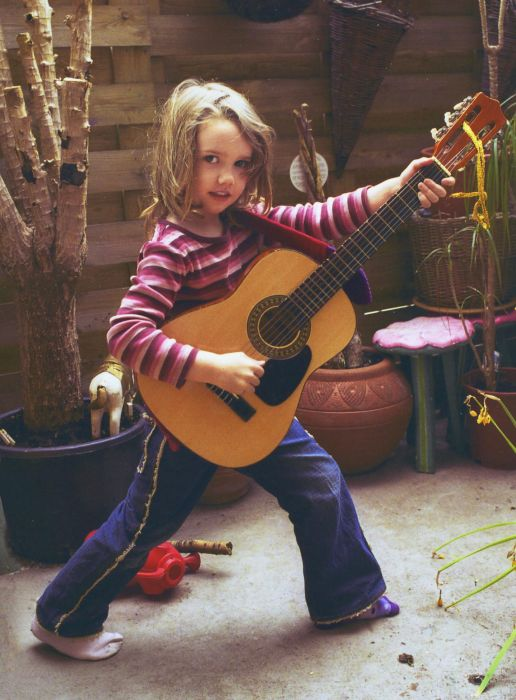 Rosie Meader – born to rock! Photo: Supplied