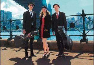 The Rosie Meader Trio. Photo: Supplied