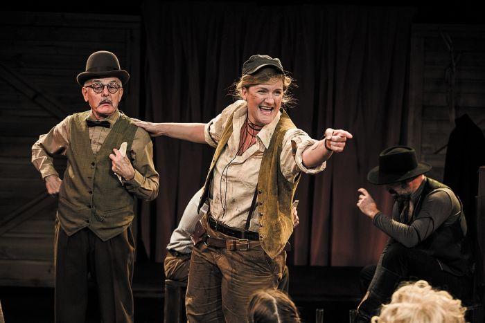 Calamity Jane - Tony Taylor Virginia Gay and Anthony Gooley Photo: John Mcrae