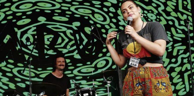 Thelma Plum Yabun Festival headliner. Photo: Andrew Collis