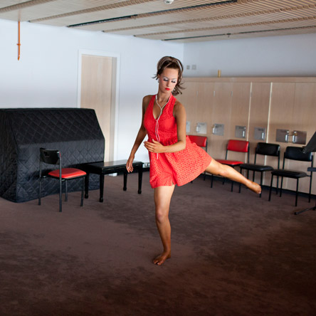 Physical Culture competitors backstage at the Sydney Opera House (Photo: Lyndal Irons)