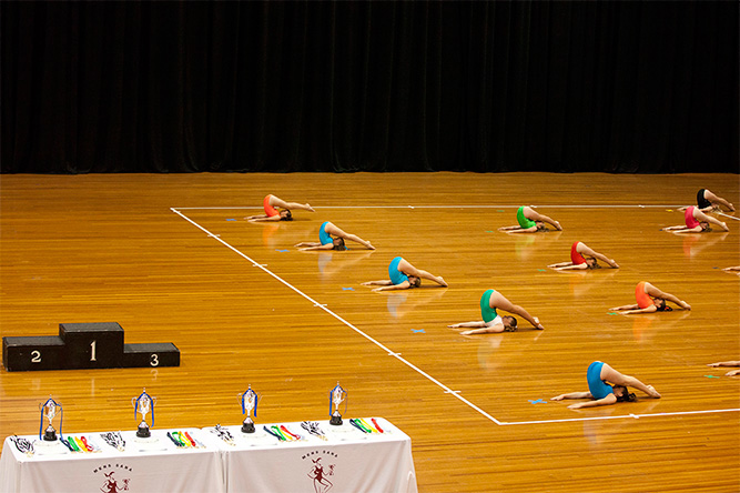 Physical Culture competitors at the Sydney Opera House (Photo: Lyndal Irons)