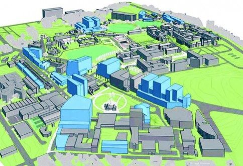 Proposed developments to the Camperdown-Darlington campus (Graphic: University of Sydney)