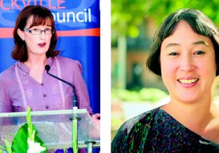 Greens preselection candidates for Newtown - Fiona Bryne & Jenny Leong (Photos: Supplied)