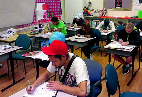 Students hard at work (Photo: Supplied)